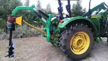 HYDRAULIC TRACTOR POST HOLE BORER DIGGER AUGER - 3 POINT LINKAGE Coominya Somerset Area Preview