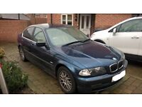 BMW 325i SE loaded and Leather MOT Sept 2017 reduced to sell