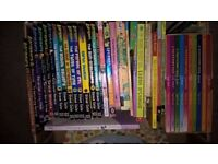 Box of Children's reading books, suit ages 6-10