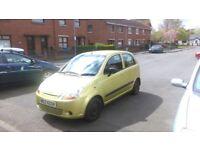 *Bargain* Chevrolet Matiz 2007 *Low Mileage* £750