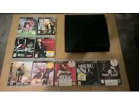 Ps3 Playstation 3 160gb with 9 games