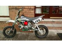 GENUINE THUMPSTAR pit bike for sale. (Not rm, yz, KTM, 125,250, crf)