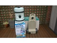 brand new aqua roll and hardly used waste master