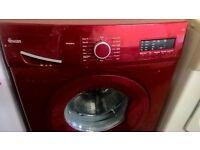 swan Red washing machine...Ex Display Mint
