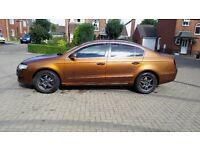 Burnt Copper Volkswagen passat 1.9TDI New MOT, TurboCharger, High Spec