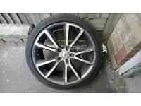 """Vauxhall Vectra VXR Style Alloy Wheels 18"""""""