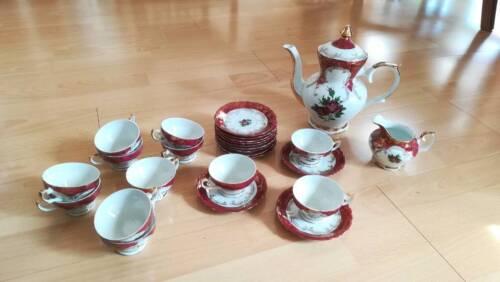 Englisches Teeservice englisches teeservice kaffeeservice royal in herzogtum lauenburg