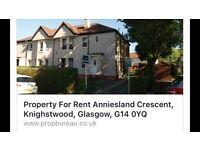 Anniesland Crescent, G14 0YQ, 3 bedroom ground floor cottage flat