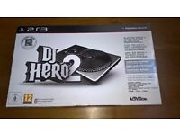 DJ Hero 2 Turntable + USB Receiver - Playstation 3 Accessory
