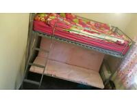 Single bed with double sofa bed