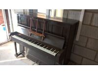 Much loved upright piano