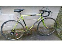 Raleigh meteor 10spd mens racing bike