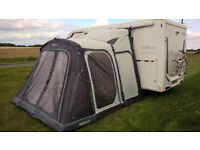 2017 Outdoor Revolution Movelite T2 Driveaway Air Awning Highline (240-290cm)
