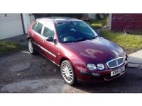2001 rover 25 1.1 low miles