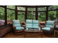 4 piece Conservatory Furniture set for sale