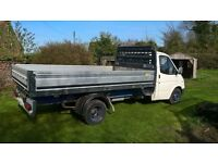 Classic Smiley Transit in VGC Alloy dropside body 12' x 7'