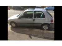 2002 1.1 Peugeot 106 Taken in PX cheap tax & insurance/excellent 43+ MPG/easy parking/12mMOT £425?PX