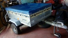 Noval Portaflot Trailer. Complete with cover. Excellent condition.