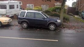 TD4 Freelander with one year MOT. In very good condition and a lovely economical family runner