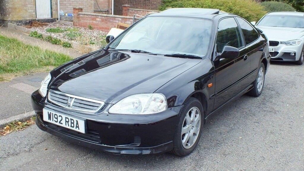 HONDA CIVIC Coupe 1.6 DOHC VTI EM1 2000 BLACK