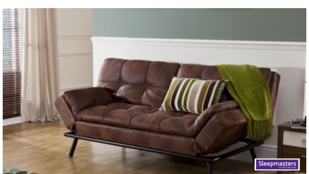 Texas Faux Leather Sofabed