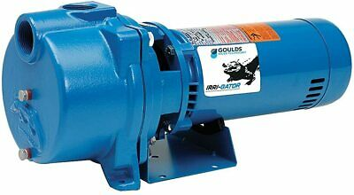 Goulds Gt10 1hp Water Well Irrigation Sprinkler Pump 1ph 115230v Self Priming