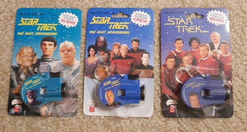 1993 Star Trek Original Key Chain Click Movie Viewers - Crew, Aliens and Movies