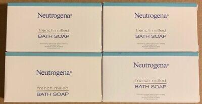 Lot of 4 Neutrogena French Milled Bath Travel Size Soap Hilton Hotel FREE SHIP !