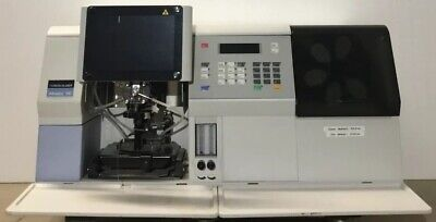 Perkin Elmer Aanalyst 100 Atomic Absorption Spectrometer No400026 With Manuals
