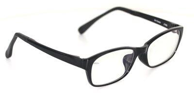 J!NS Air Frame MRF-13-515D Brille Schwarz glasses  JINS (Jins Brille)