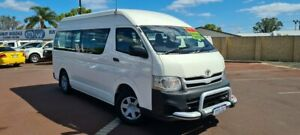 2011 Toyota HiAce KDH223R MY11 Commuter High Roof Super LWB White 5 Speed Manual Bus East Bunbury Bunbury Area Preview