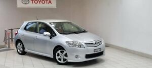 2012 Toyota Corolla ZRE152R MY11 Levin SX Silver 6 Speed Manual Hatchback
