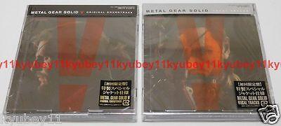 New METAL GEAR SOLID 5 V ORIGINAL SOUNDTRACK  GFCA-398 Japan