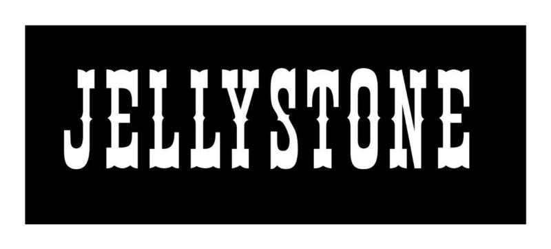 Jellystone 2 x 8 Yogi Bear - Boo Boo VINYL CAR WINDOW DECAL STICKER DECORATION