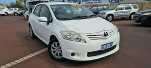 2012 Toyota Corolla ZRE152R MY11 Ascent White 6 Speed Manual Hatchback East Bunbury Bunbury Area Preview