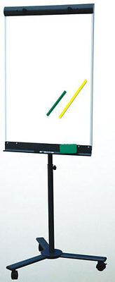 28 X 40 Neoplex Telescoping Flip Chart Magnetic Dry Erase Board Roll Around