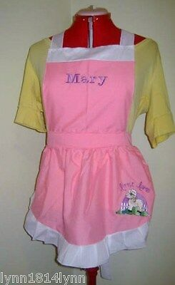 Mary Little Lamb Costume (MARY HAD A LITTLE LAMB COSTUME APRON ONLY Made to Fit 1-12 years Diff)