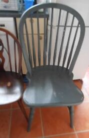 Dining Chair (Over-Sized) Shabby Chic Project (PRICE REDUCED)