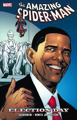 Spider Man  Election Day By Guggenheim  John Romita Jr   More 2010 Tp Marvel