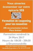 Formation sur le couponing
