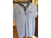 Blue and Grey shirt aged 12-13 (x2)
