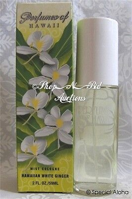 Hawaiian White Ginger Cologne Spray By Perfumes Of Hawaii 2oz Aloha Lei