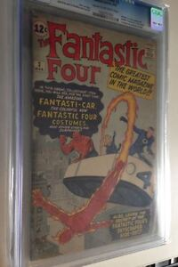Fantastic Four #3 comic 1st costumes and HQ! CGC 4.0 $895, OBO