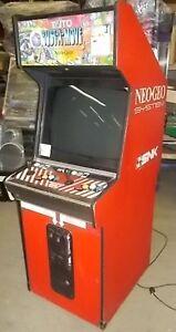 Original Neo Geo/SNK Arcade Cabinet w/ Bust A Move