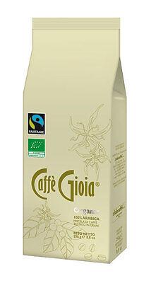 Caffè Gioia 100% Arabica Organic Fairtrade Coffee Beans (250g)