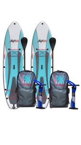 Inflatable SUP ATX Stand-Up Paddleboard - Perfect Condition!
