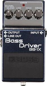Boss BB1X Bass Driver, overdrive, distortion