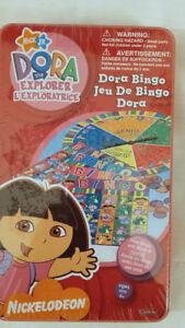 NICKELODEON Dora the Explorer Bingo Board Game, SEALED