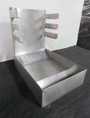 Stainless Steel Glazing Station Bakery Doughnut Donut Icing Countertop Tabletop