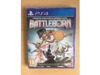 NEW Battleborn PS4 (INCLUDES FIRST BORN PACK AND CHARACTER CARDS) Sealed